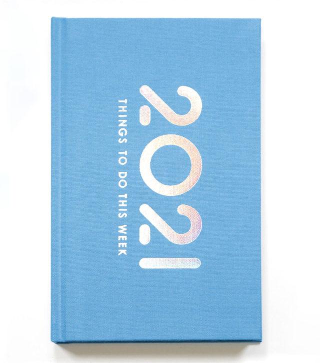 booco 2021 diary パステルブルーイメージ