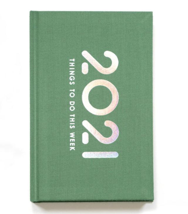booco 2021 diary パステルグリーンイメージ