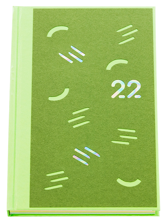 booco 2022 diary ピスタチオイメージ